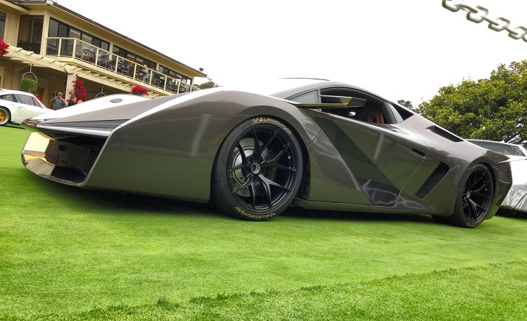 2018 SALAFF C2 Supercar Concept 16