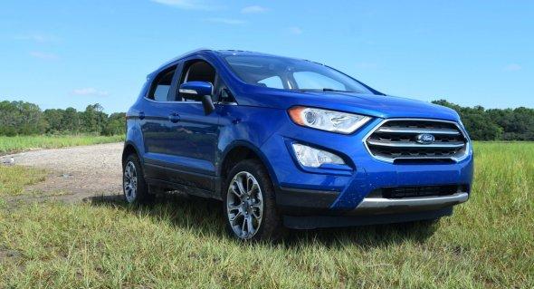 2018 Ford EcoSport Titanium AWD 22