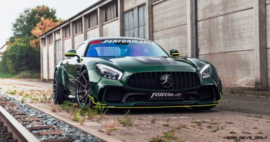 Widebody AMG GTS in Emerald Green 11