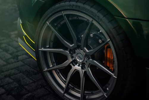 Widebody AMG GTS in Emerald Green 3