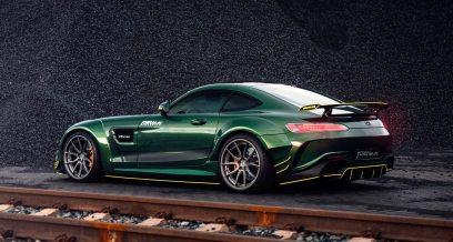 Widebody AMG GTS in Emerald Green 8