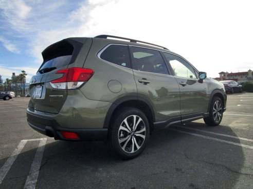 2019 Subaru Forester Limited 17