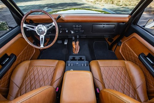 1969 Ford Bronco Supercharged by Velocity Restorations 26