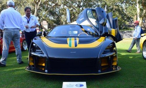 McLaren Senna Amelia Island 2