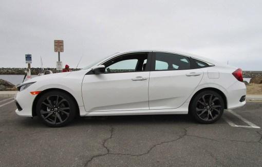 2019 Honda Civic Sport 4-Door 1