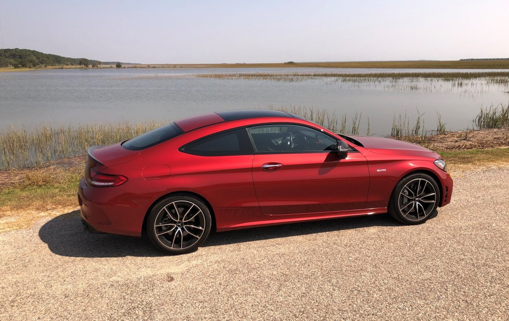 2019 Mercedes AMG C43 Coupe - Road Test Review - Burkart (56)