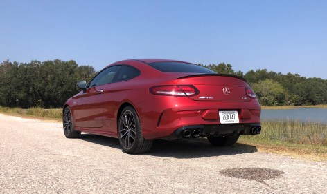 2019 Mercedes AMG C43 Coupe - Road Test Review - Burkart (81)