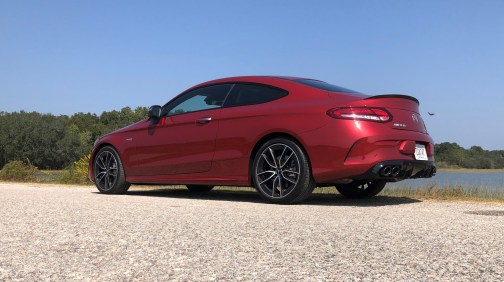 2019 Mercedes AMG C43 Coupe - Road Test Review - Burkart (82)