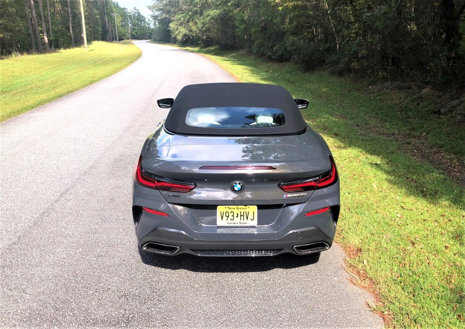 2019 BMW M850i Convertible Davit Grey Tom Burkart (54)