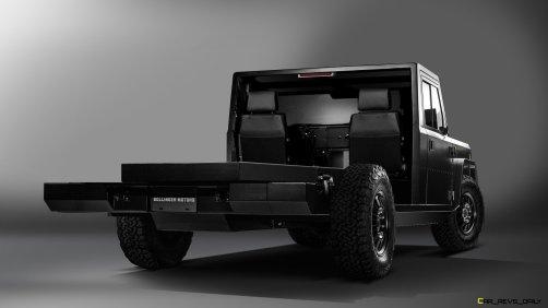 Bollinger Motors B2 Chassis Cab 2 Door Open 7_8 rear