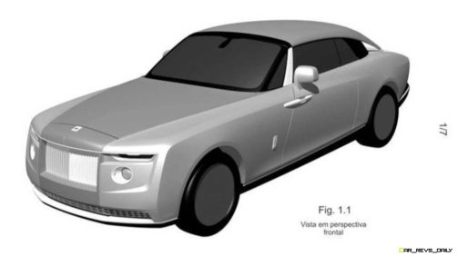 Sweptail based mystery model patent image