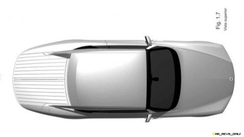 Rolls Royce Patent Image top view