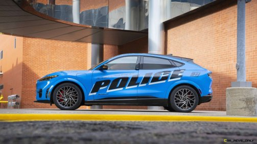 Mach-E Police Interceptor side profile