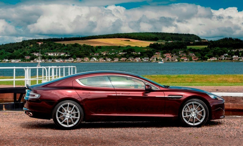 4.2s, 200-MPH 2015 Aston Martin RAPIDE S Also Nabs New Dampers, Torque-Tube and 8-Speed ZF Transaxle 135