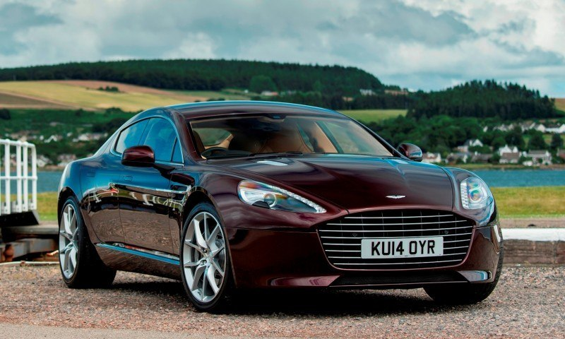 4.2s, 200-MPH 2015 Aston Martin RAPIDE S Also Nabs New Dampers, Torque-Tube and 8-Speed ZF Transaxle 136