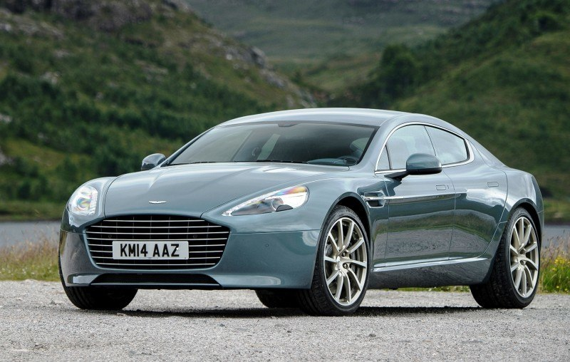 4.2s, 200-MPH 2015 Aston Martin RAPIDE S Also Nabs New Dampers, Torque-Tube and 8-Speed ZF Transaxle 154