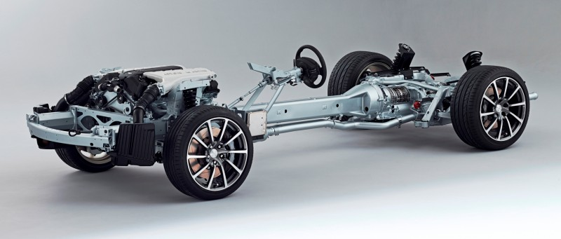 4.2s, 200-MPH 2015 Aston Martin RAPIDE S Also Nabs New Dampers, Torque-Tube and 8-Speed ZF Transaxle 161