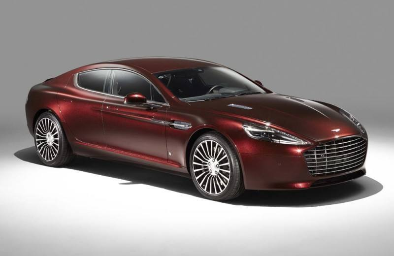 4.2s, 200-MPH 2015 Aston Martin RAPIDE S Also Nabs New Dampers, Torque-Tube and 8-Speed ZF Transaxle 194