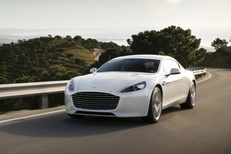 4.2s, 200-MPH 2015 Aston Martin RAPIDE S Also Nabs New Dampers, Torque-Tube and 8-Speed ZF Transaxle 241