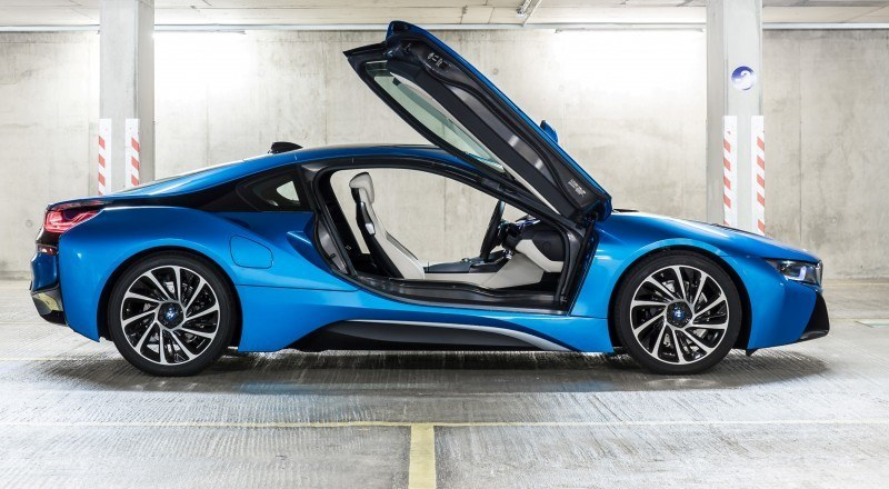 4.4s 2015 BMW i8 Glams Up London and English Countryside for of UK Sales Launch 13