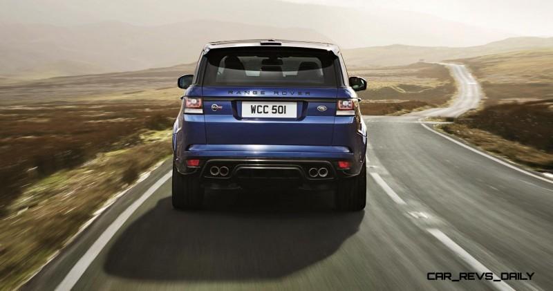 4.5s, 162MPH 2015 Range Rover Sport SVR is Official 30