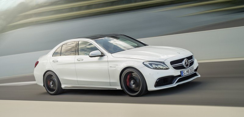 510HP, 3.9s 2015 Mercedes-AMG C63 S Joings New C63 - Without the Benz Name 16