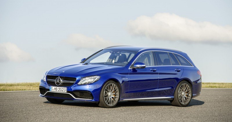 510HP, 3.9s 2015 Mercedes-AMG C63 S Joings New C63 - Without the Benz Name 21
