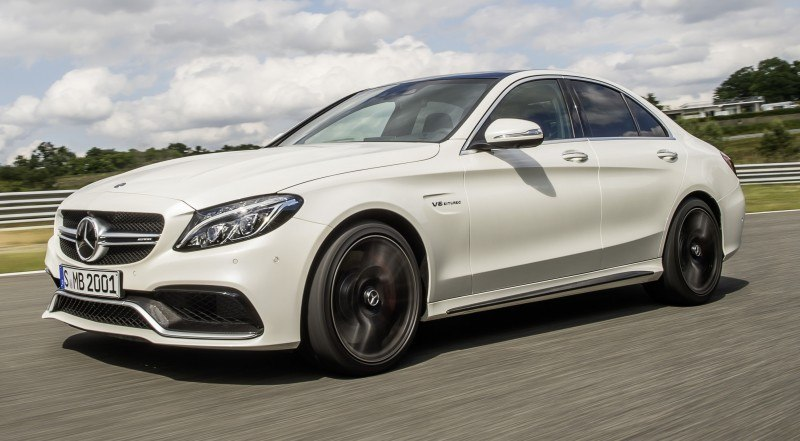 510HP, 3.9s 2015 Mercedes-AMG C63 S Joings New C63 - Without the Benz Name 8
