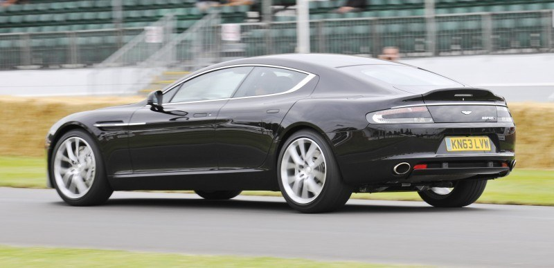 Aston Martin Zings Up Goodwood Hill (to its AMG Future) in Vantage S, Rapide S and Vanquish 4