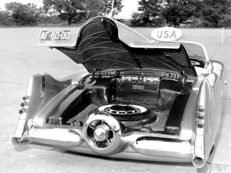 Atlanta Dream Cars - 1951 General Motors LeSabre XP-8 Struck Gold With Yank Tank Ethos of 1950s 14
