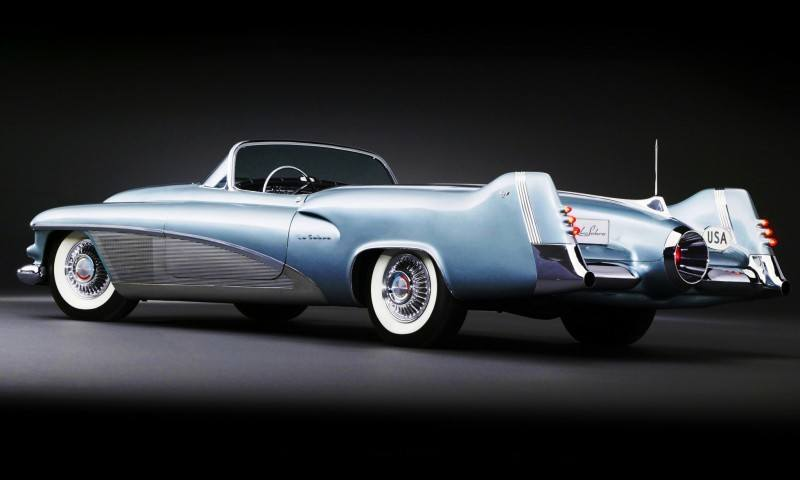 Atlanta Dream Cars - 1951 General Motors LeSabre XP-8 Struck Gold With Yank Tank Ethos of 1950s 17