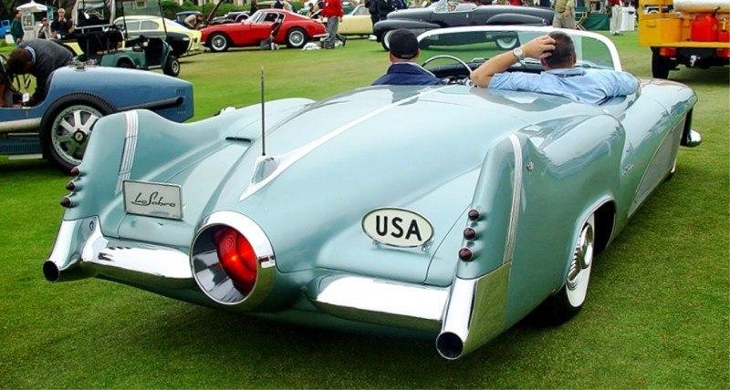 Atlanta Dream Cars - 1951 General Motors LeSabre XP-8 Struck Gold With Yank Tank Ethos of 1950s 18