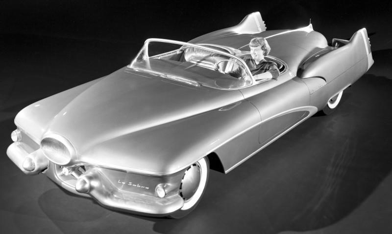 Atlanta Dream Cars - 1951 General Motors LeSabre XP-8 Struck Gold With Yank Tank Ethos of 1950s 3