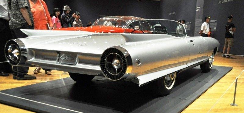Atlanta Dream Cars Showcase - 1959 Cadillac Cyclone XP-74 Is Rocket Nose and Tailfin Bliss 19