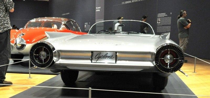Atlanta Dream Cars Showcase - 1959 Cadillac Cyclone XP-74 Is Rocket Nose and Tailfin Bliss 22