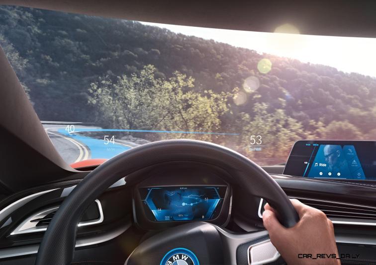 BMW i Vision Future Interaction 30
