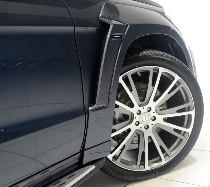 BRABUS B63S 700 Widestar Upgrades for Mercedes-Benz GL-Class Are Ready for Hollywood A-List 18