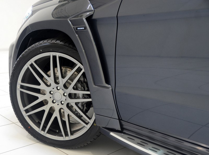 BRABUS B63S 700 Widestar Upgrades for Mercedes-Benz GL-Class Are Ready for Hollywood A-List 19
