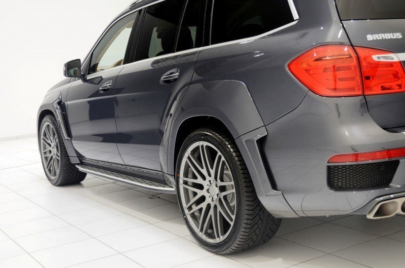 BRABUS B63S 700 Widestar Upgrades for Mercedes-Benz GL-Class Are Ready for Hollywood A-List 20