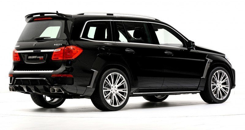 BRABUS B63S 700 Widestar Upgrades for Mercedes-Benz GL-Class Are Ready for Hollywood A-List 28