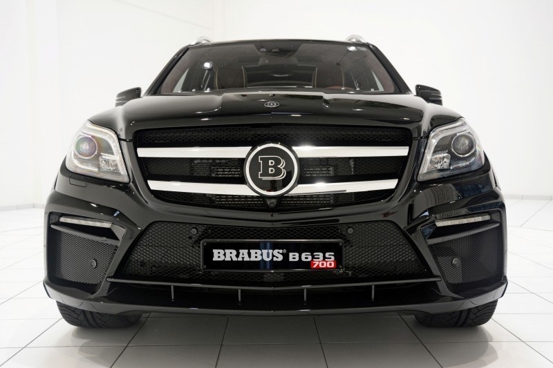 BRABUS B63S 700 Widestar Upgrades for Mercedes-Benz GL-Class Are Ready for Hollywood A-List 36