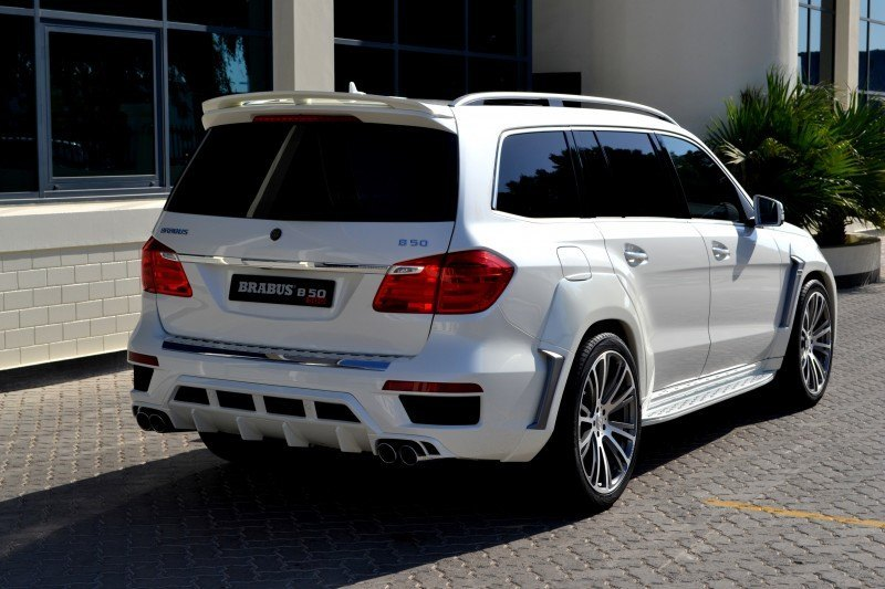 BRABUS B63S 700 Widestar Upgrades for Mercedes-Benz GL-Class Are Ready for Hollywood A-List 51