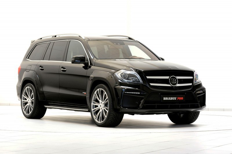 BRABUS B63S 700 Widestar Upgrades for Mercedes-Benz GL-Class Are Ready for Hollywood A-List 58