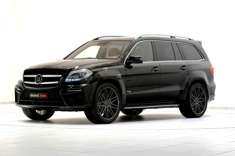 BRABUS B63S 700 Widestar Upgrades for Mercedes-Benz GL-Class Are Ready for Hollywood A-List 68