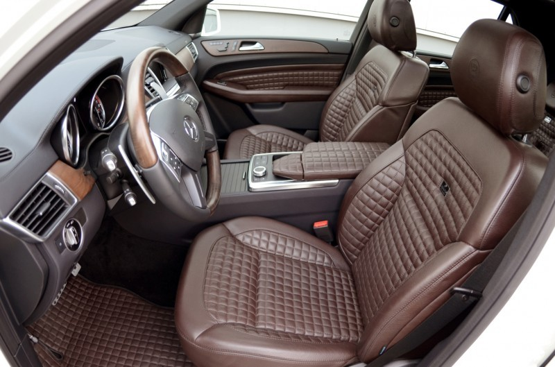 BRABUS Custom Interiors for the Mercedes-Benz ML-Class SUV 18