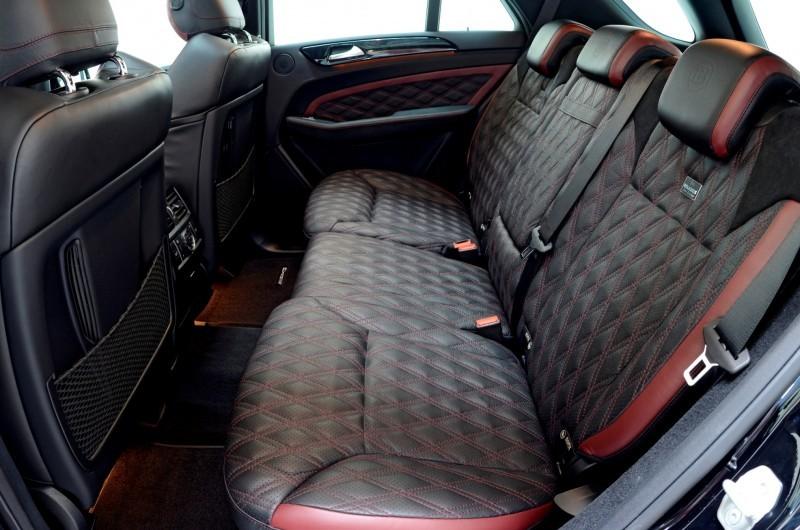 BRABUS Custom Interiors for the Mercedes-Benz ML-Class SUV 23
