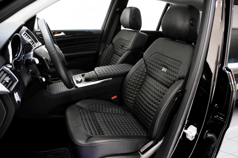 BRABUS Custom Interiors for the Mercedes-Benz ML-Class SUV 4