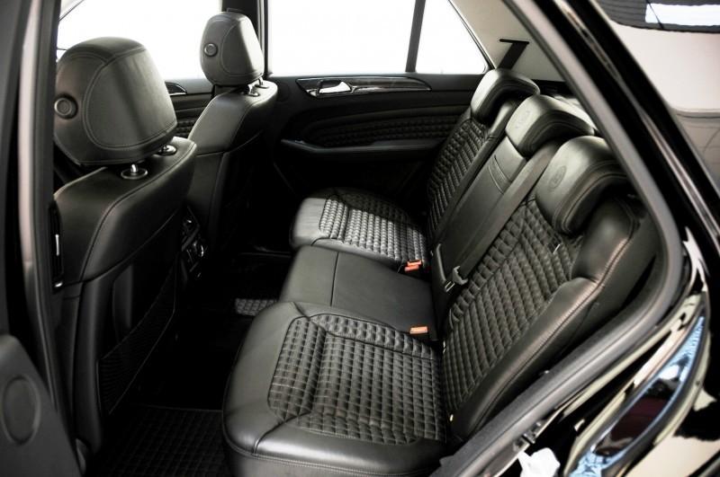BRABUS Custom Interiors for the Mercedes-Benz ML-Class SUV 5