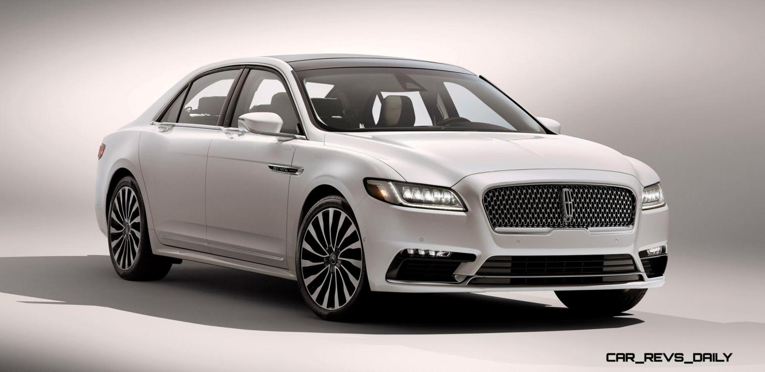 Best of NAIAS - 2017 Lincoln CONTINENTAL Limo 5