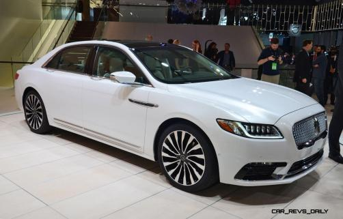 Best of NAIAS - 2017 Lincoln CONTINENTAL Limo 51
